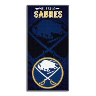 NHL 911 Sabres Emblem Beach Towel