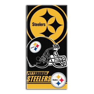 NFL 911 Steelers Double Cover Beach Towel
