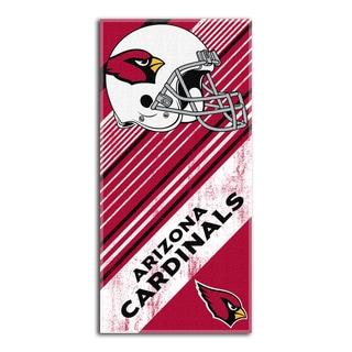 NFL 911 Cardinals Diagonal Beach Towel