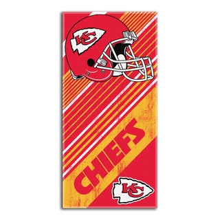 NFL 911 Chiefs Diagonal Beach Towel