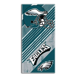 NFL 911 Eagles Diagonal Beach Towel