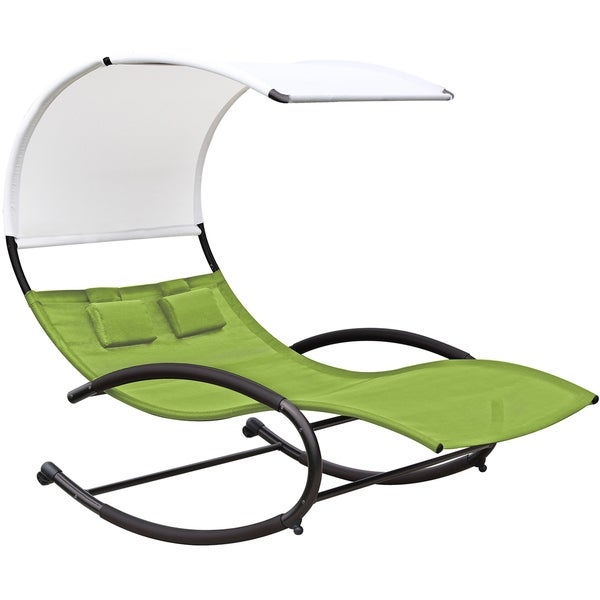 PHAT TOMMY Double Chaise Rocker