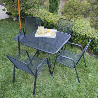 Verona 5-piece Steel Dining Set