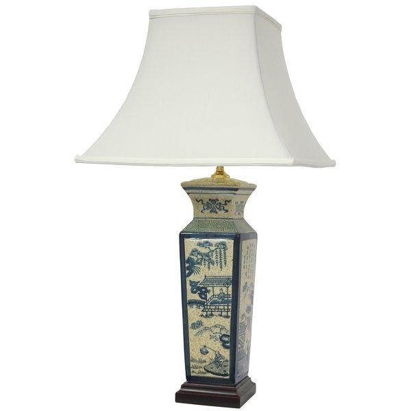 Ming Vase Oriental Lamp (China)