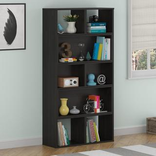 Avenue Greene Transform Sliding Dark Cherry Bookcase