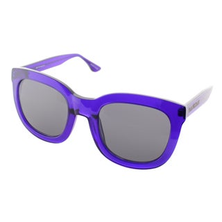 Isaac Mizrahi Womens IM 23 90 Indigo Plastic Square Fashion Sunglasses