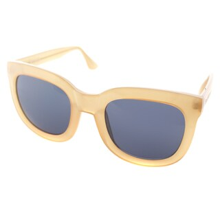Isaac Mizrahi Womens IM 23 87 Butterscotch Plastic Square Fashion Sunglasses