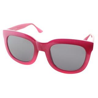 Isaac Mizrahi Womens IM 23 79 Rose Plastic Square Fashion Sunglasses