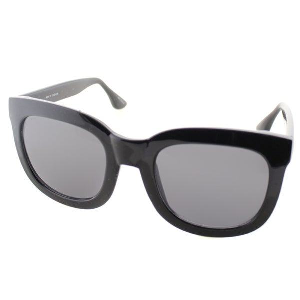 Isaac Mizrahi Womens IM 23 10 Black Plasic Square Sunglasses