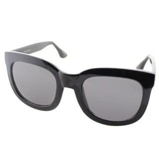 Isaac Mizrahi Womens IM 23 10 Black Plasic Square Sunglasses