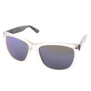 Cole Haan Mens C 7043 91 Matte Crystal Plastic Rectangle Sunglasses