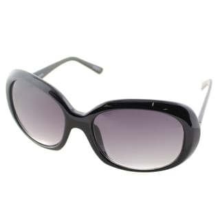 Cole Haan Womens C 698 10 Black Plastic Oval Sunglasses