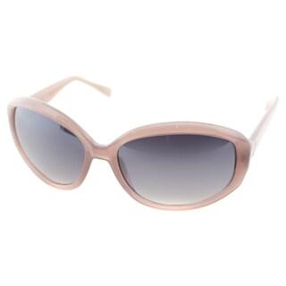 Cole Haan Womens C 617 30 Bark Plastic Oval Fashion Sunglasses