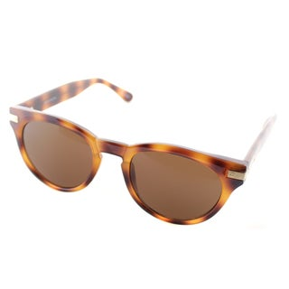 Cole Haan Womens C 6090 25 Honey Tortoise Plastic Fashion Sunglasses