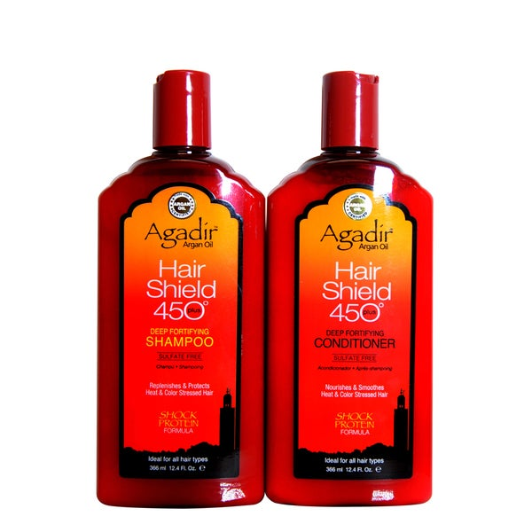 Agadir Hair Shield 450 Shampoo and Conditioner Duo 12oz