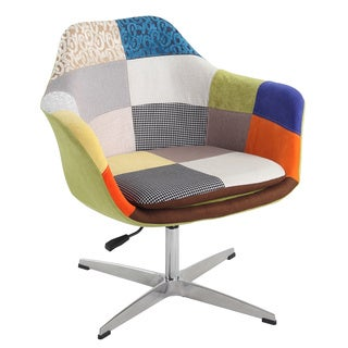 Christopher Knight Home Patch Work Pneumatic Swivel Chair