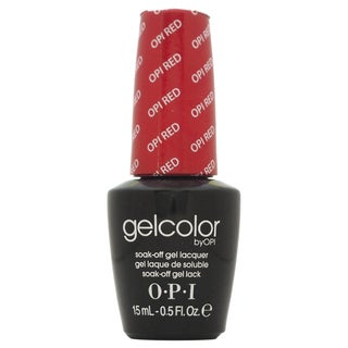OPI GelColor Red Soak-Off Gel Lacquer