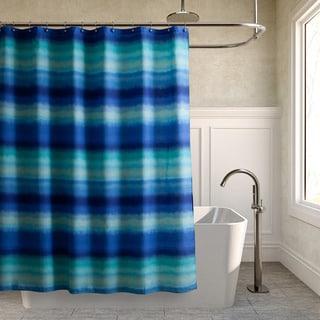 Teen Vogue Electric Beach Blue Shower Curtain