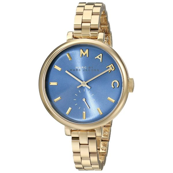 Marc Jacobs Women's MBM3366 Baker Slim Blue Watch