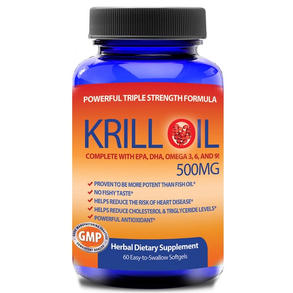 Totally Products 100-percent Pure Krill Oil (60 Softgels)