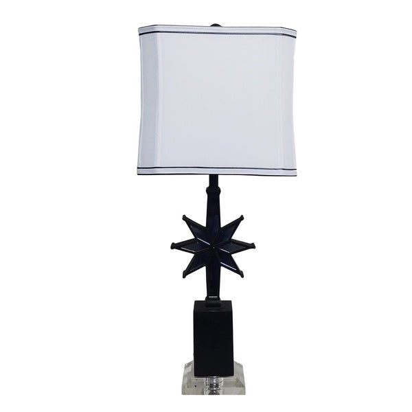 Star Mirror Table Lamp