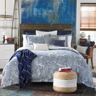 TH CANYON PAISLEY DUVET SET