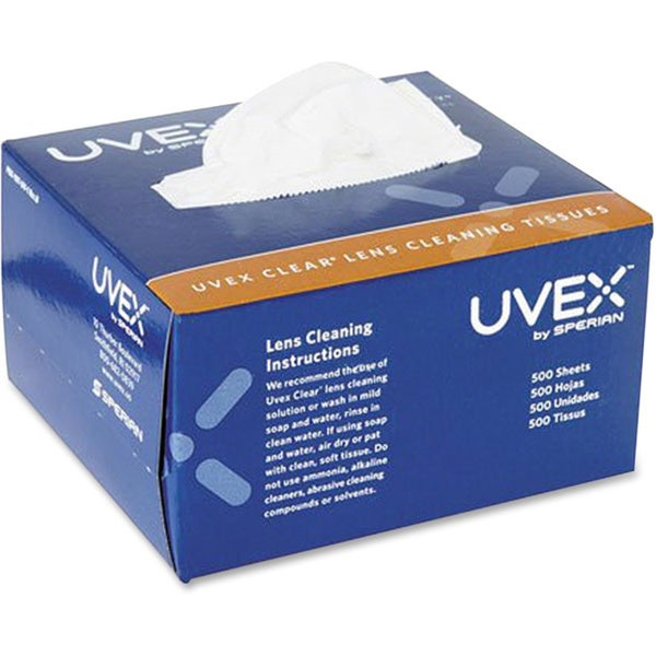 Honeywell Uvex Clear Lens Cleaning Tissues