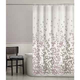 Maytex Sylvia Fabric Shower Curtain