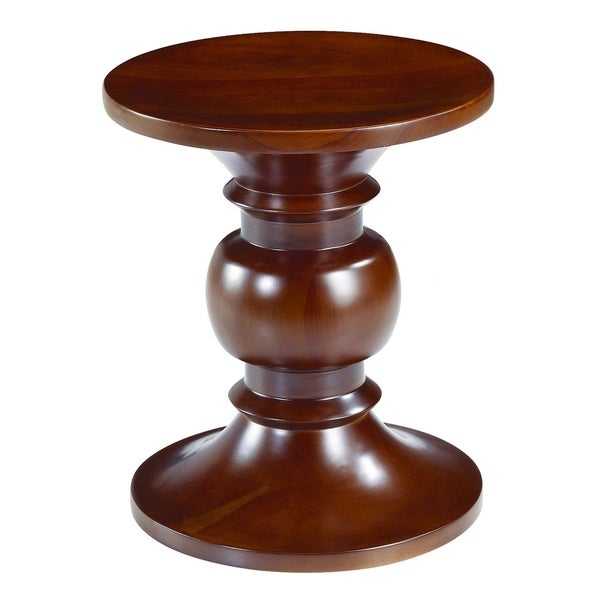 Turned Walnut Stool