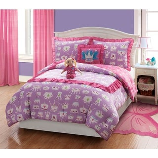 Dollie & Me Princess 4 and 5pc reversable comforter