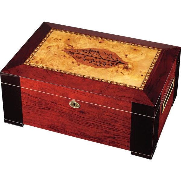 Visol Zoro Bubinga Cigar Humidor (Holds 150 Cigars)