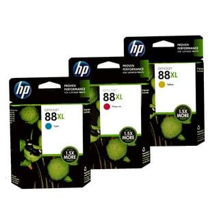 HP 88XL Color Ink Cartridge Set (1 Cyan, 1 Magenta, 1 Yellow)