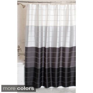 Maytex Rosalie Fabric Shower Curtain