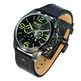 Ingersoll Mens Totem Black Fine Automatic Timepiece
