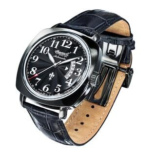 Ingersoll Mens Black Jack Fine Automatic Timepiece