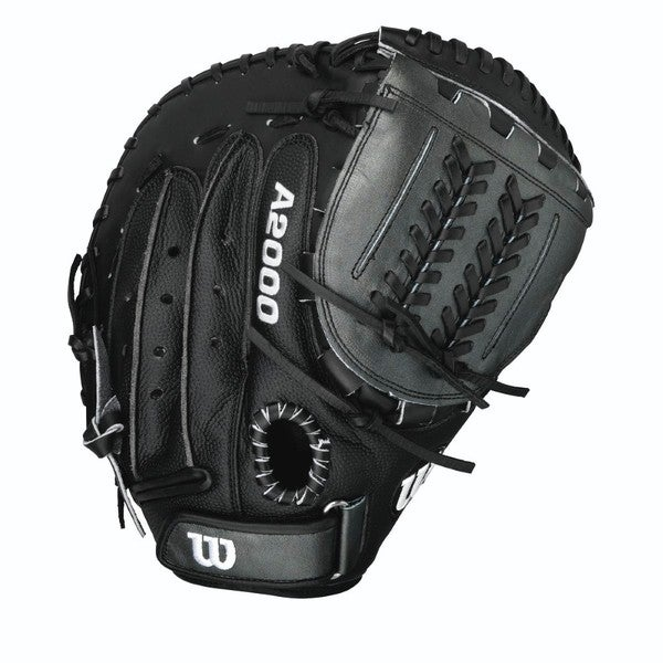 Wilson A2000 Fastpitch Softball 34-inch Black Catcher's Mitt