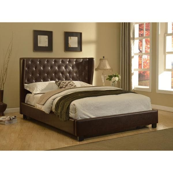 California King Tufted Platform Bed