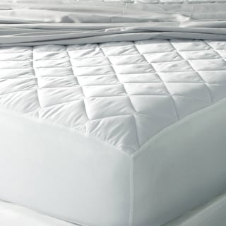 Eddie Bauer 400 Thread Count Egyptian Cotton Hypoallergenic Antimicrobial Mattress Pad