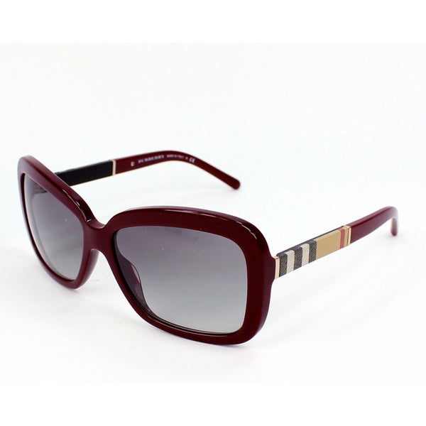 Burberry BE4173 Womens Rectangle Sunglasses