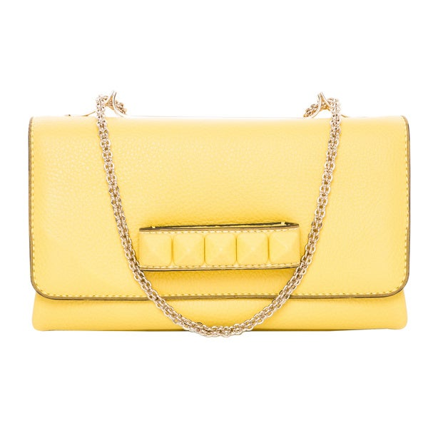 Valentino Va Va Voom Grainy Leather Shoulder Bag