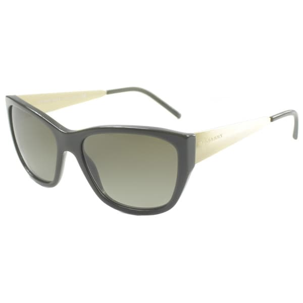 Burberry BE4174 Sunglasses 337313 Green / Brown Gradient