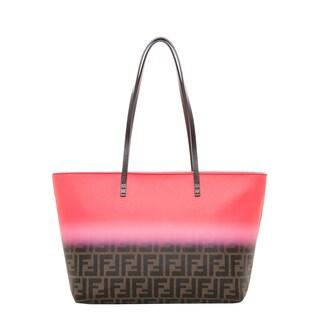 Fendi Zucca Ombre Roll Bag