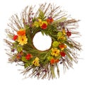 Cosmos Mixed 24-inch Wreath