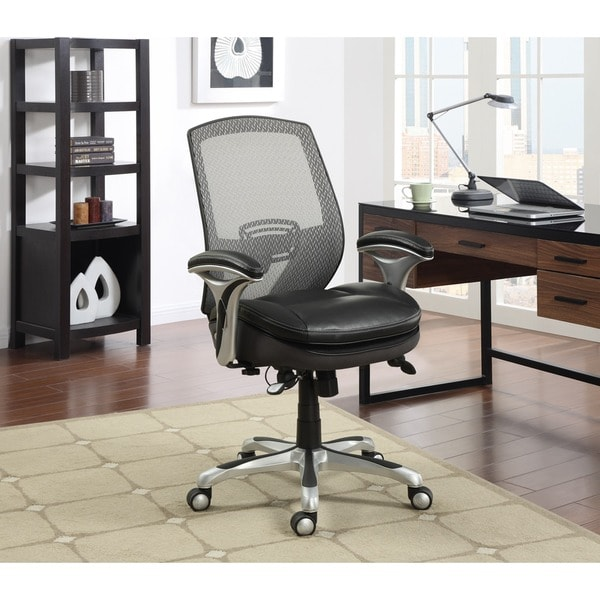 Serta Blissfully Black Smart Layers Task Office Chair