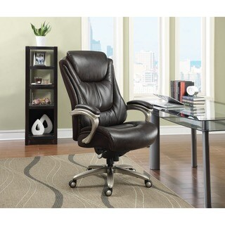 Serta Big and Tall Smart Layers Harmony Executive Office Chair