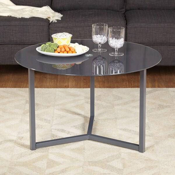Porch & Den Third Ward Jackson Glass Cocktail Table 15077807