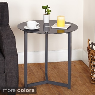 Simple Living Glass End Table