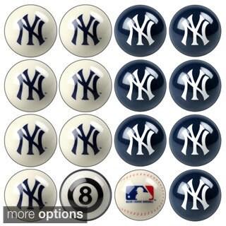 MLB Teams Licensed Baseball Billiard Balls Complete Set of 16 Balls / 52-2101-2115