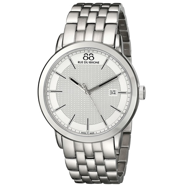 88 Rue du Rhone Men's 87WA130016 'Double 8 Origin' Swiss Quartz Stainless Steel Watch