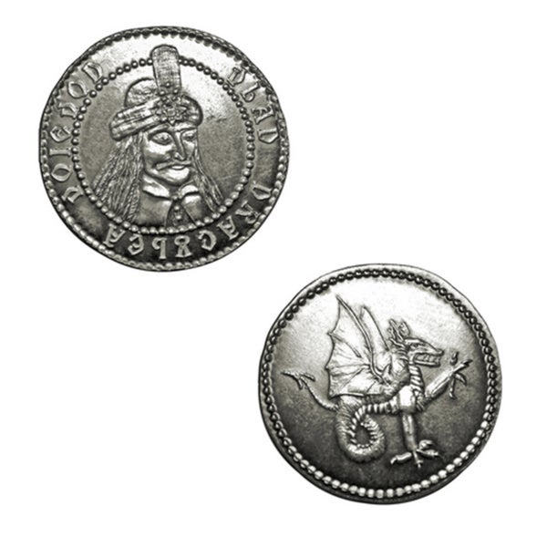 Vlad the Impaler Dracula Silver Coin